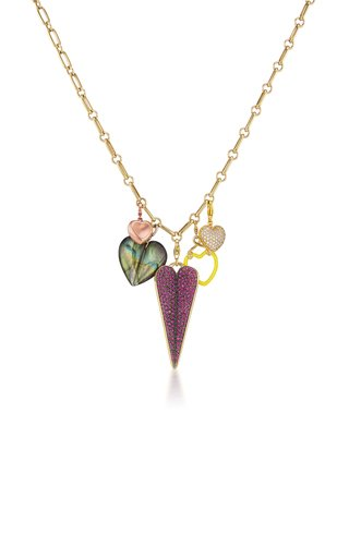 Heart Charms Necklace