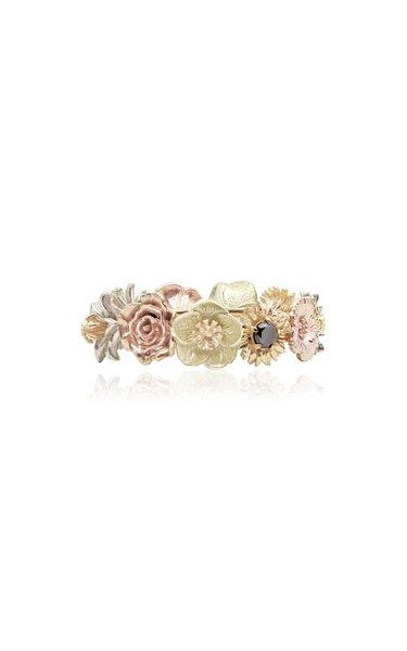 Flora 14K Gold Diamond Ring