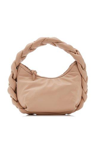 Espiga Mini Braided Leather Top Handle Bag