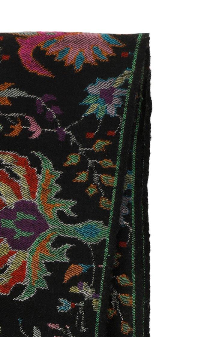 Handloomed Kani Weave Shawl