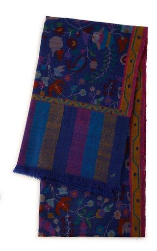 Handloomed Kani Weave Shawl 100X200