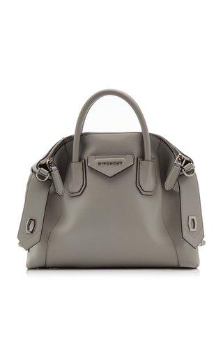 Antigona Small Soft Leather Shoulder Bag