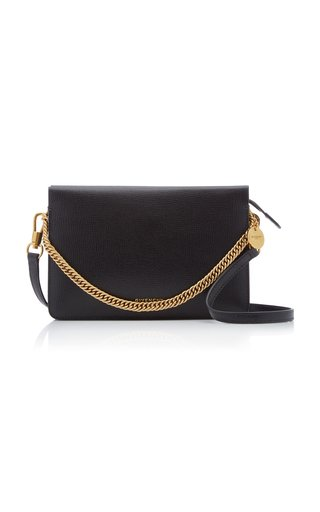 Cross 3 Grained Leather Crossbody Bag