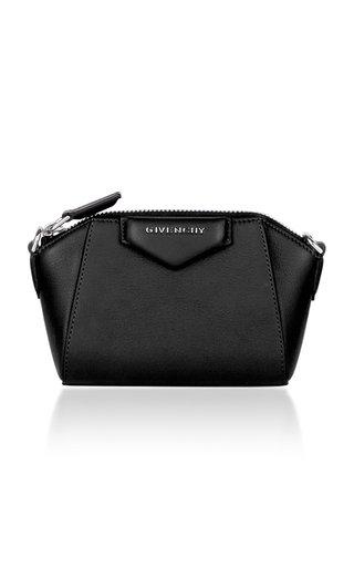Antigona Nano Leather Crossbody Bag