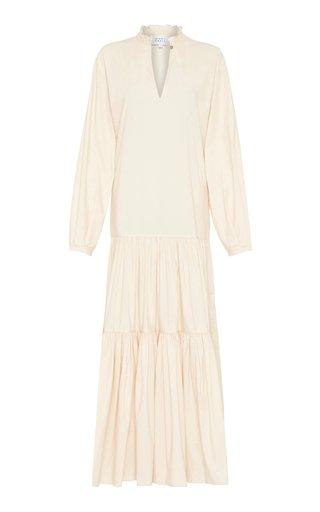 Carlotta Poplin Maxi Dress