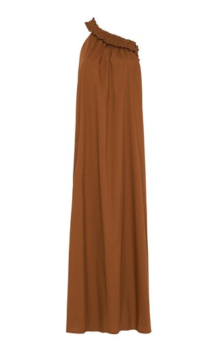 Donatella Poplin Maxi Dress