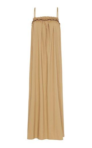 Ida Cotton-Poplin Maxi Dress