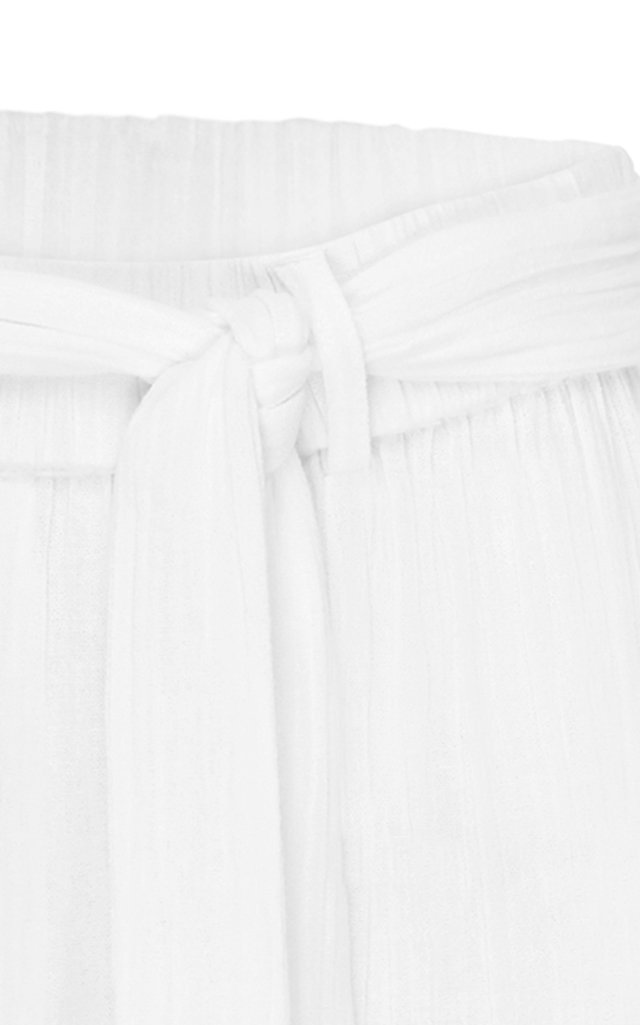 Vacation Belted Linen Culottes