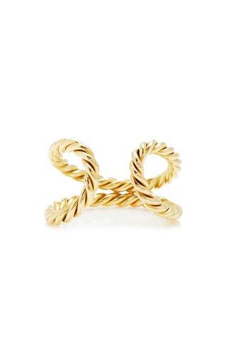 18K Yellow Gold Rope Ring