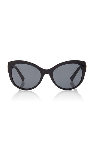Safety-Pin Cat-Eye Acetate Sunglasses