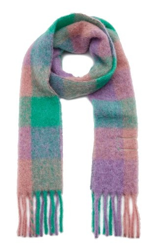Vally Oversized Plaid Scarf