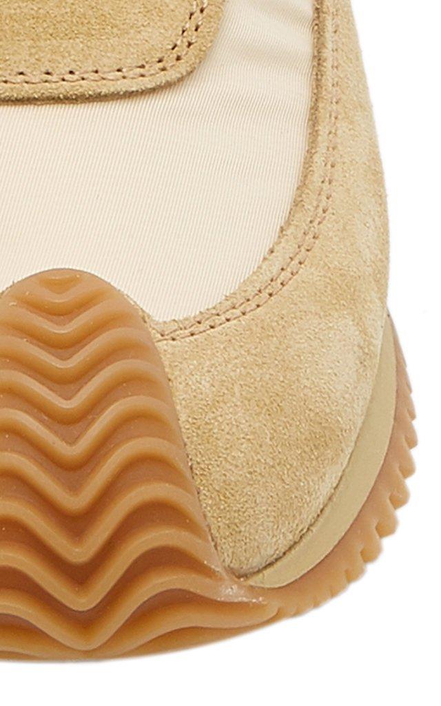 Flow Runner Suede Sneakers