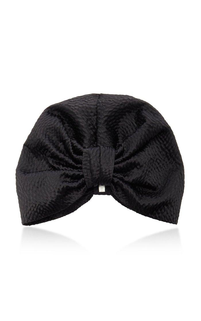 Etta Hammered Silk Headpiece
