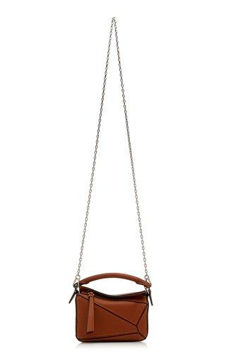 Puzzle Nano Leather Bag