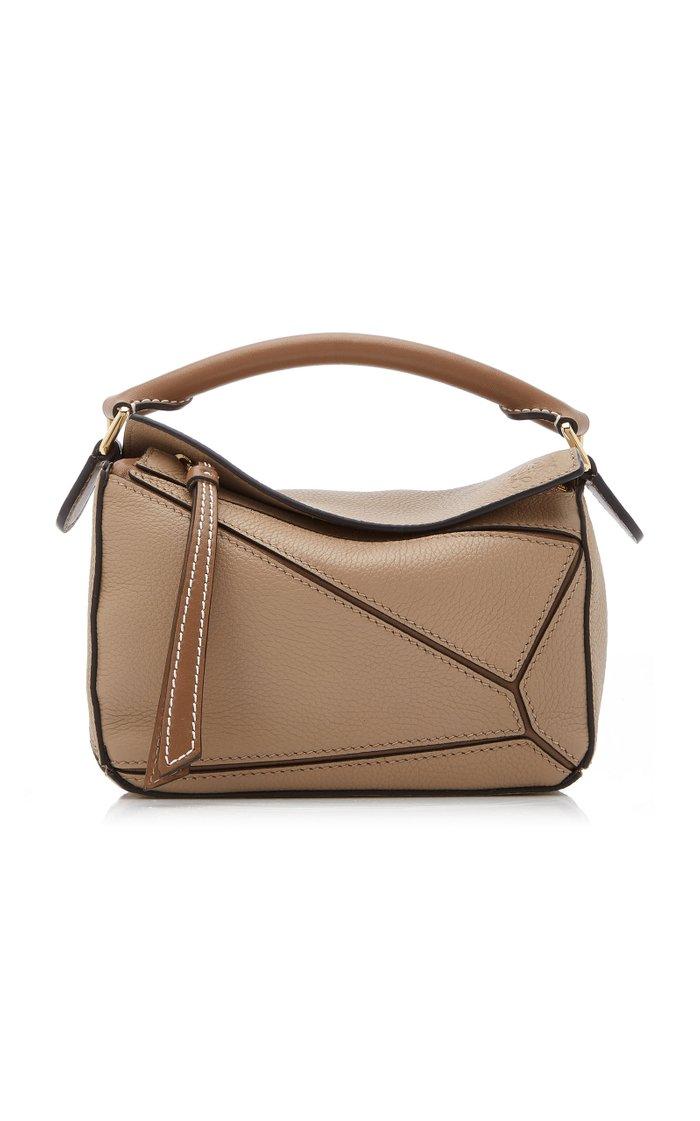 Mini Puzzle Leather Bag