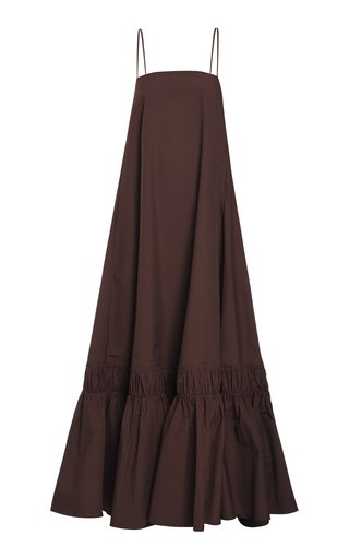 Sleeveless Cotton Maxi Dress