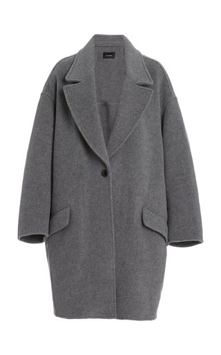 Fego Oversized Wool-Blend Coat