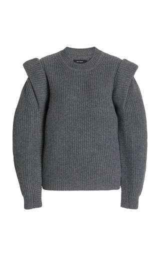 Bolton Wool-Cashmere Knit Sweater