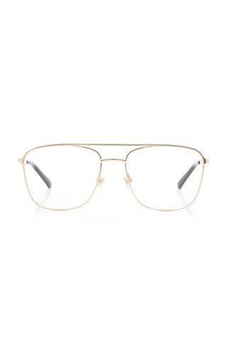 Aviator-Style Metal Glasses