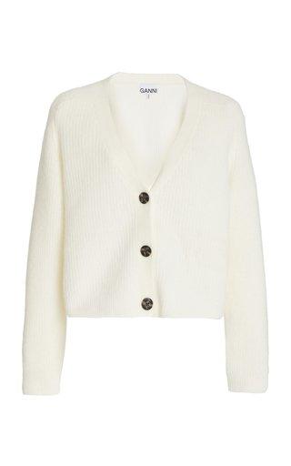 Soft Wool-Alpaca Knit Cardigan