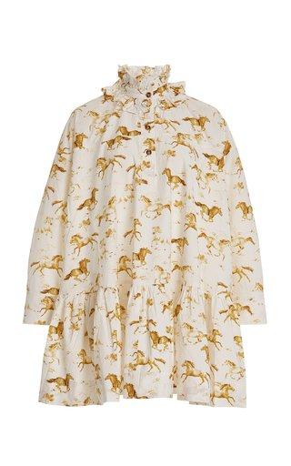 Printed Cotton Horse Dress