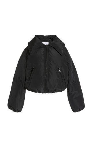 Cropped Shell Down Jacket