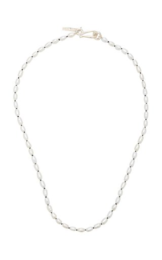 Pearl Sterling Silver Necklace