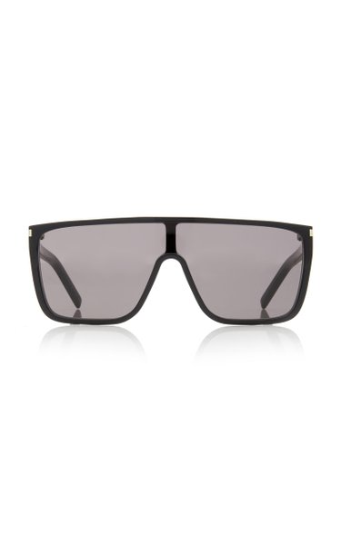 Mask D-Frame Acetate Sunglasses
