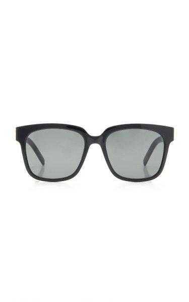 Oversized Acetate Square Sunglasses