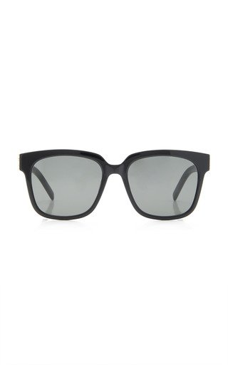 Oversized Acetate Square Sunglasses