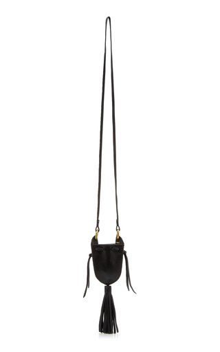 Radjimi Mini Tasseled Leather Crossbody Bag