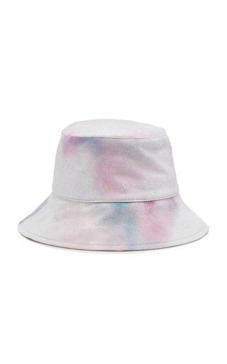 Loiena Large Cotton-Twill Bucket Hat