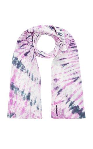 Nassau Tie-Dyed Cotton Jersey Scarf