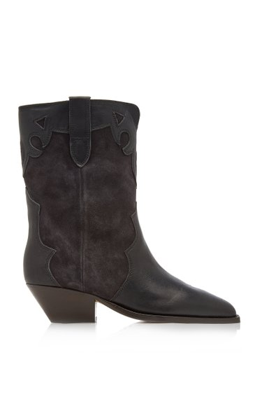 Duoni Leather Western Boots