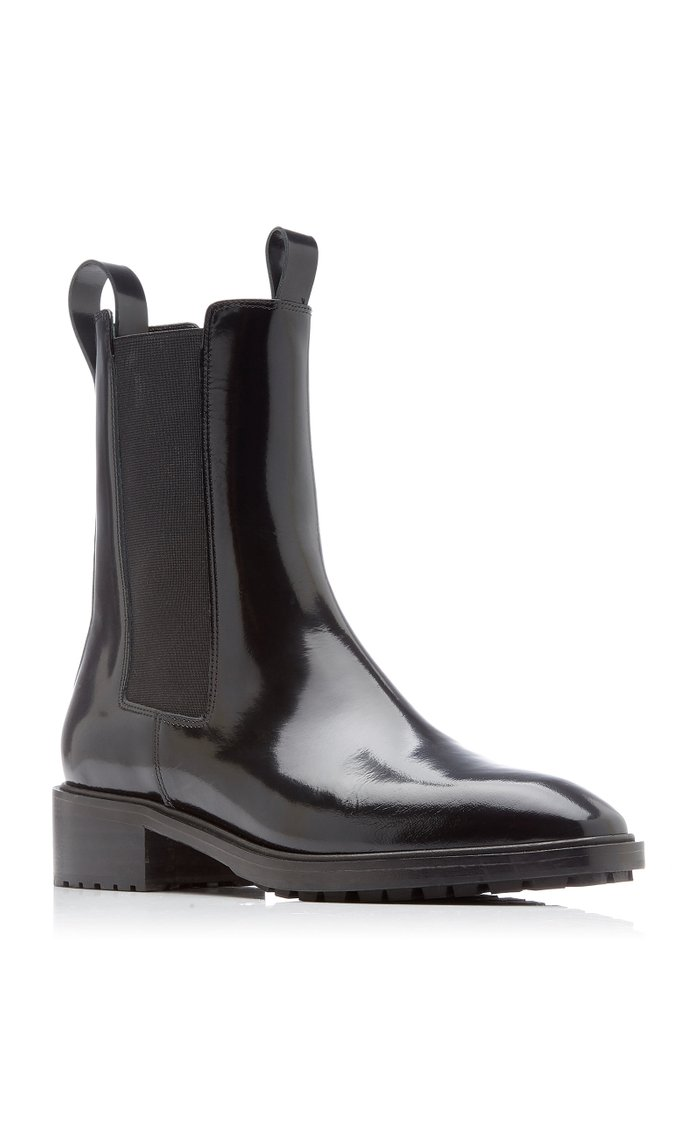 Simone Leather Chelsea Boots