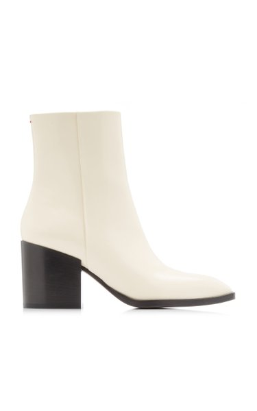 Leandra Leather Ankle Boots