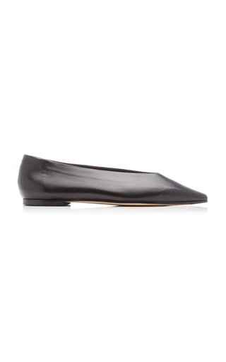 Betty Leather Flats