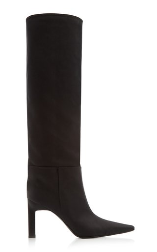 Vitto Nylon Knee Boots