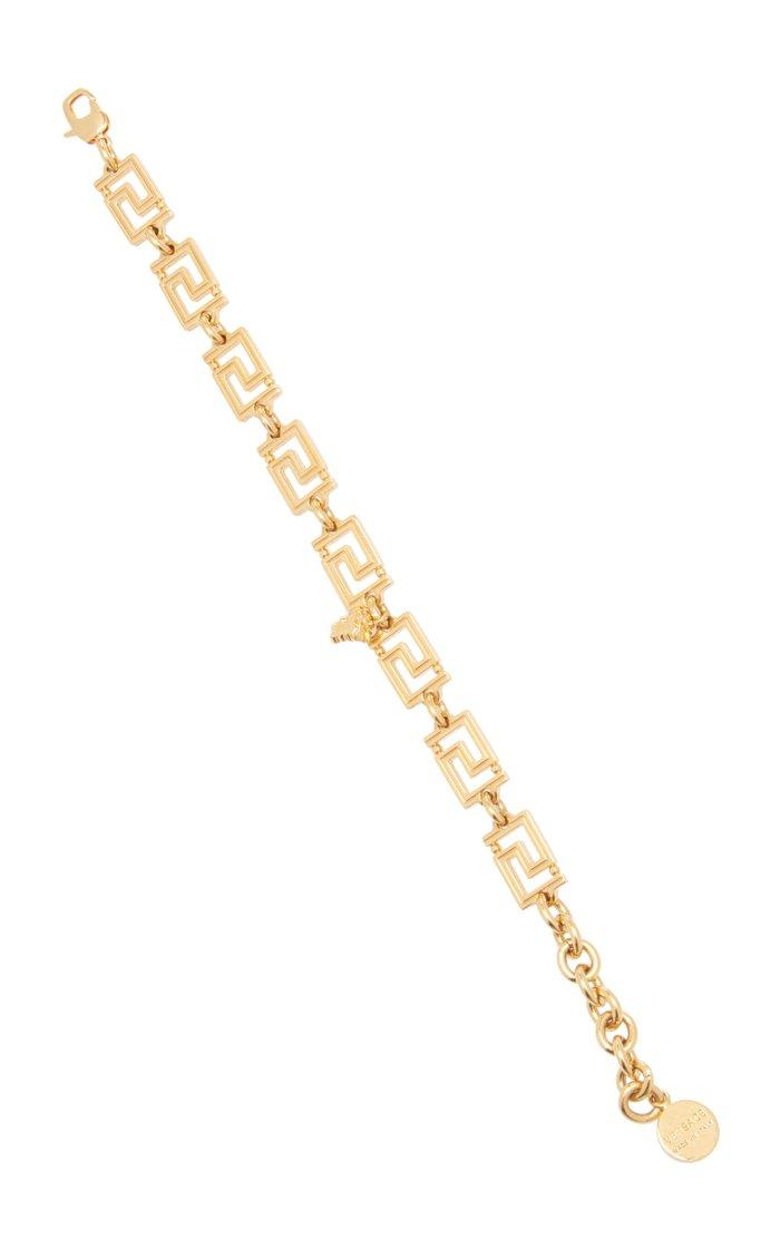 Gold-Tone Greca Bracelet