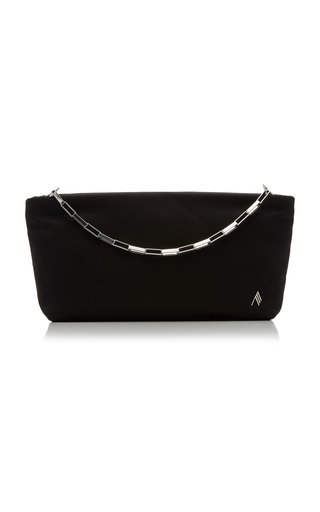 Chain-Link Shell Pouch Clutch