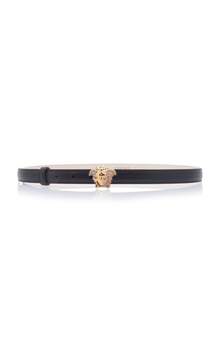 Medusa Leather Belt