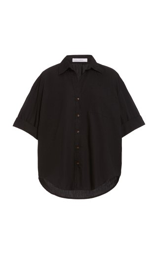 Marquis Oversized Cotton Poplin Shirt
