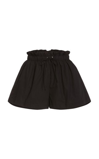 Shelby Cotton Poplin Drawstring Shorts