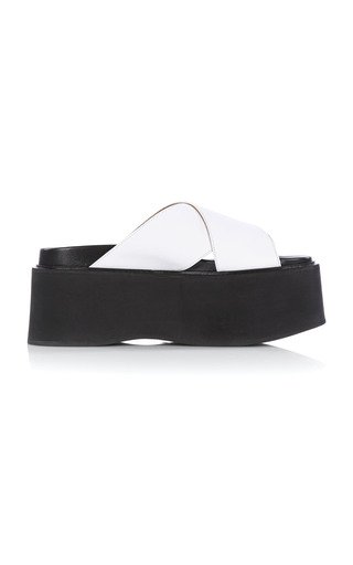 Platform Leather Sandals