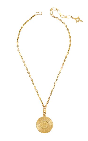 Smooth Sailing 24K Antique Gold-Plated Necklace