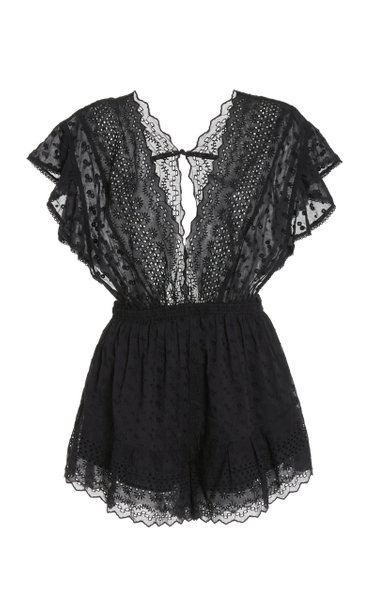Tadeo Embroidered Playsuit
