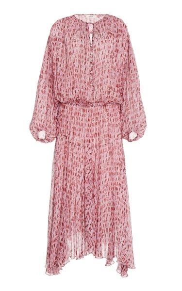 Saureli Midi Dress