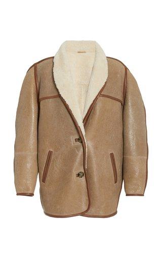 Anawa Oversized Shearling Jacket