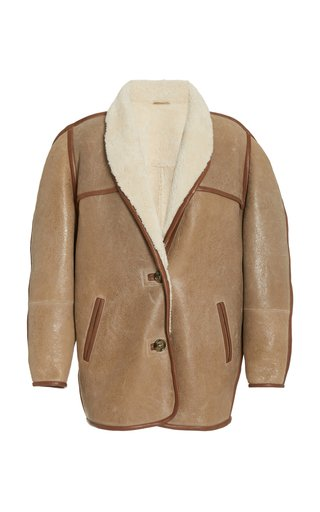 Anawa Oversized Shearling Jacket