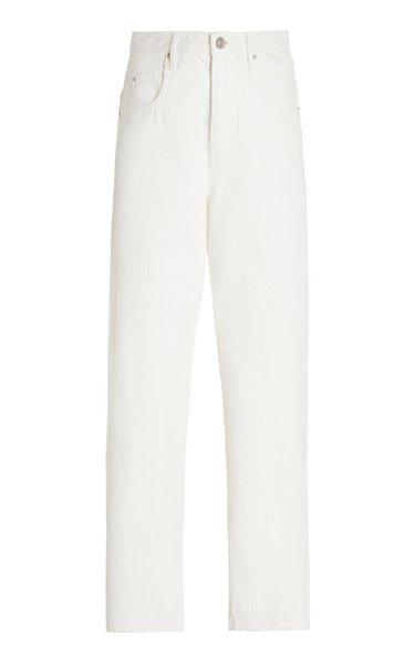 Corfy Rigid High-Rise Boyfriend Jeans